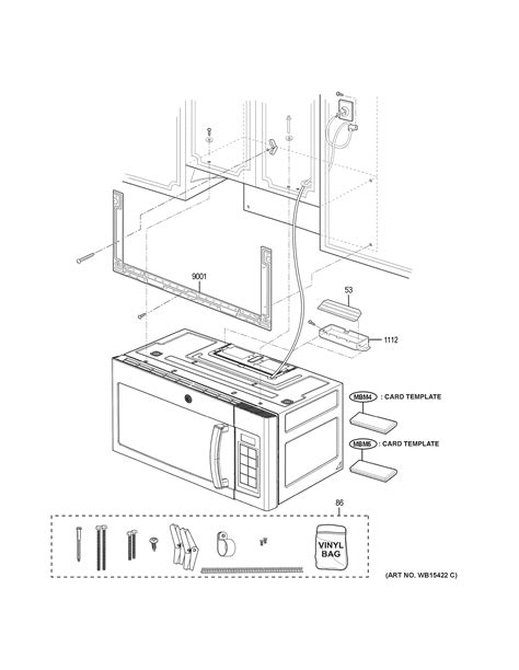 assembly view  installation parts jnmdjbb