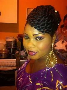 Coiffure Femme Pour Mariage : chignon africain pour mariage ~ Dode.kayakingforconservation.com Idées de Décoration