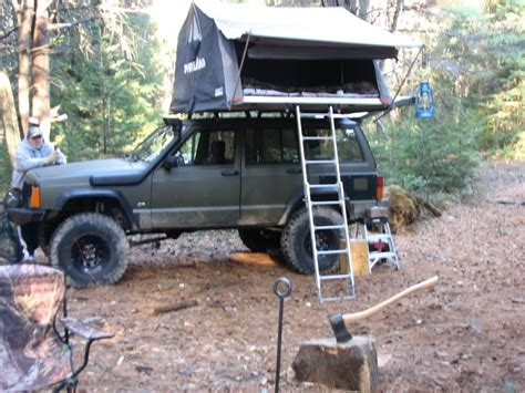 jeep grand cherokee roof top tent roof top tent on my 98 jeep cherokee forum