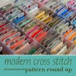 Frosted Pumpkin Stitchery by Don T Call Me Becky Modern Cross Stitch Pattern Round Up
