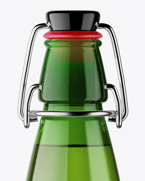 These items are handmade so there may be a few imperfections, such as scratches and small variations in size. 330ml Green Glass Beer Bottle Mockup - High Quality ...