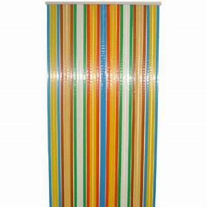 Rideau De Porte Anti Mouche Leroy Merlin : rideau de porte arc en ciel 90 x 220 cm castorama ~ Melissatoandfro.com Idées de Décoration