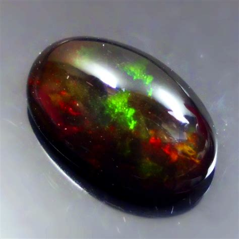 natural black opal kalimaya lp266 victory gemstone