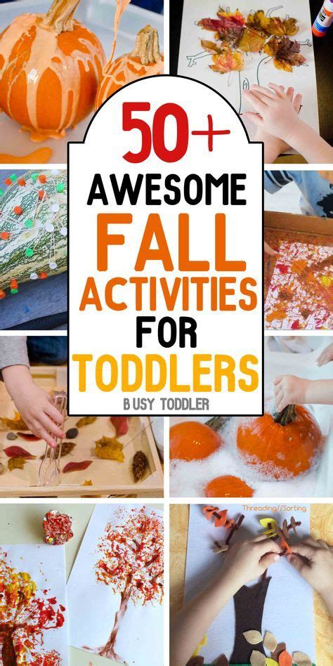 50 awesome fall activities for toddlers the best tips