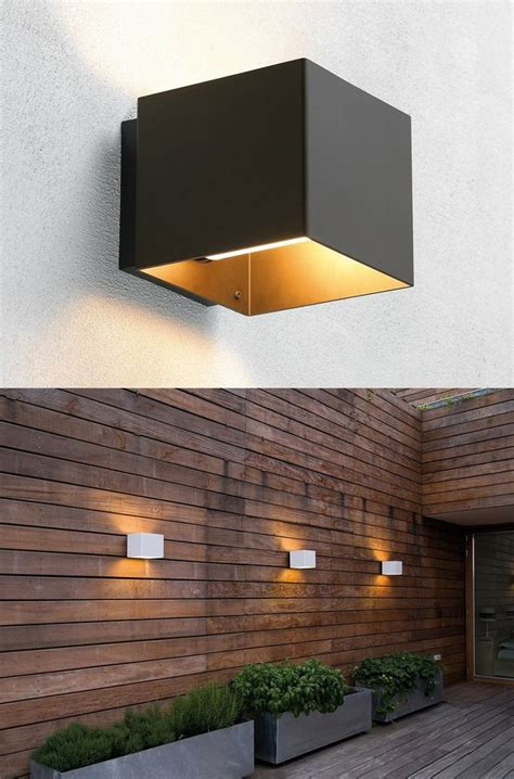 25 outdoor wall lighting ideas on