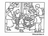 Coloring Grocery Supermarket Kleurplaat Kleuteridee Preschool Winkel Kleurplaten Sheets Market Supermarkt Jaap Kramer Boodschappen Doen Printable Gratis Kleuterschool Werkbladen Heerlijk sketch template