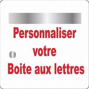 Etiquette Boite Au Lettre : stickers boite aux lettres personnaliser art d co stickers ~ Farleysfitness.com Idées de Décoration