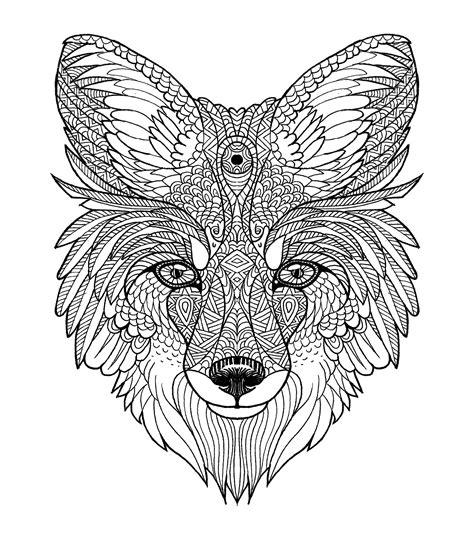 fox mandala diego ayerbe illustrations fox tattoo