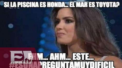 Vega Meme - los memes a las respuestas de paulina vega la nueva miss universo youtube