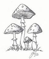 Mushrooms Mushroom Lil Drawings Drawing Cartoon Deviantart Simple Line Coloring Pages Sketch Clipart Weed Cool Magic Pencil Kifest�koenyv Adult Rajzok sketch template