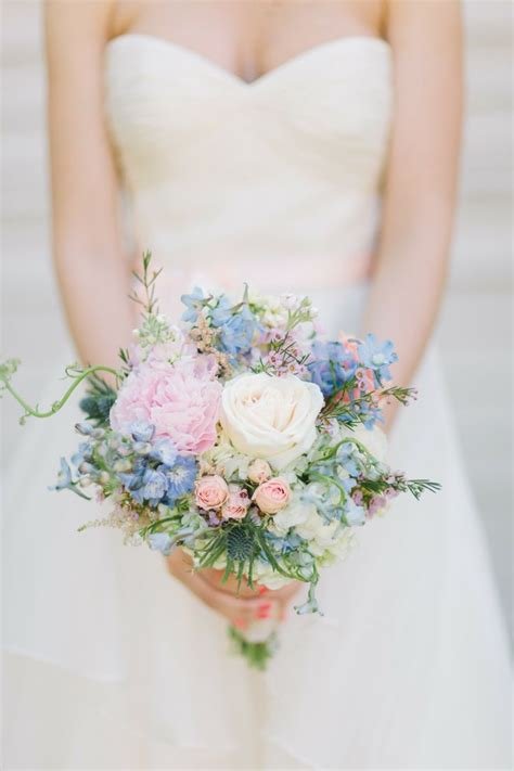 Spring Wedding Bouquetspastel Bridal Bouquet 1 I Take