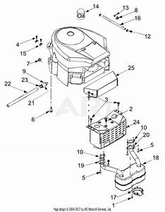 Troy Bilt 13at609g766 Super Bronco  2004  Parts Diagram For Engine Accessories