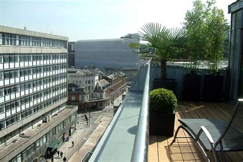 contemporary roof terrace design london urban tropics
