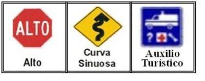 seguridad vial los colores  las senales de transito