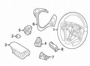 Lincoln Mkx Steering Wheel Transmission Shift Control