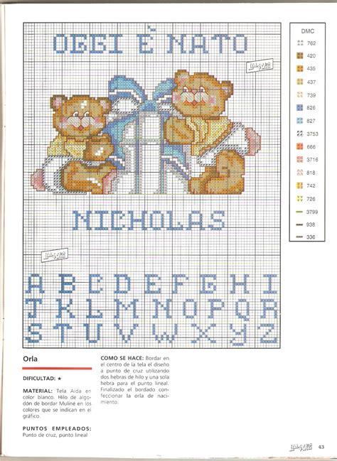 lettere dell alfabeto a punto croce letto lettere alfabeto punto croce schemi alfabeto punto