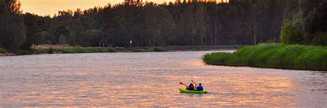 Leiputrija - Carnikava / Baltic sea (Gauja, 1 day) - Canoe ...