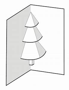 3d pop up card templates free - 3d christmas tree card template best template idea