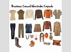 Wardrobe Capsules for Your Life Casual Business