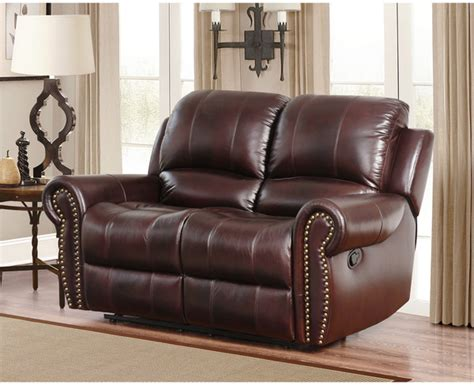 Leather Dual Reclining Loveseat With Console by Dual Reclining Loveseat Leather Sofa Guide