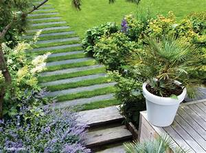 Allée De Jardin Pas Cher : all es de jardin nos 6 bonnes id es mon jardin ma maison ~ Premium-room.com Idées de Décoration