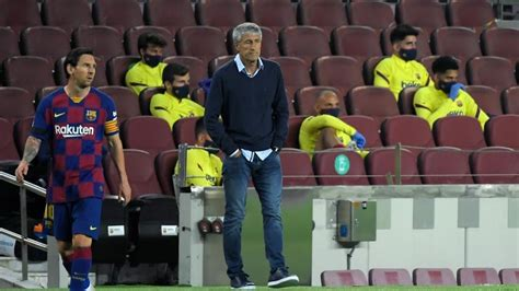 FC Barcelona - La Liga: Setien to Messi: If you don't like ...