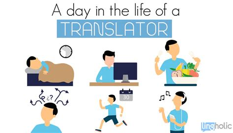 lifespan of a a day in the life of a translator lingholic