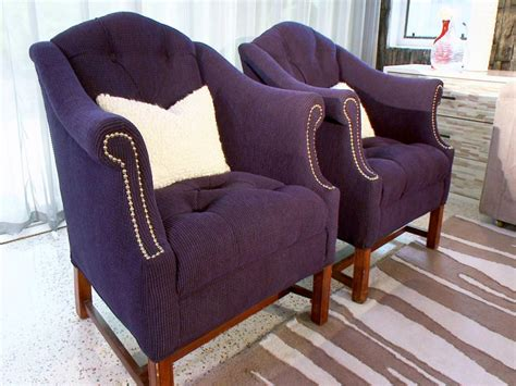purple accent chair real bar  bistro extravagant