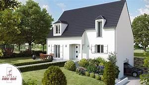 symphonie maison d39architecte a etage With charming plan de maison 2 pieces 4 maison babeau seguin