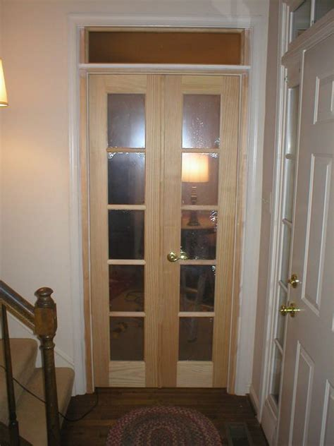 interior double swing doors home ideas   pocket