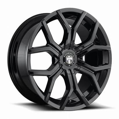 Royalty Dub Piece S208 Wheels Gloss Lug