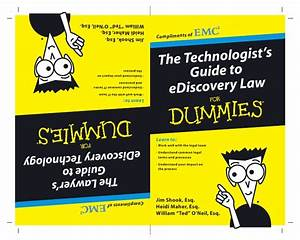 The Technologist U2019s Guide To Ediscovery Law For Dummies
