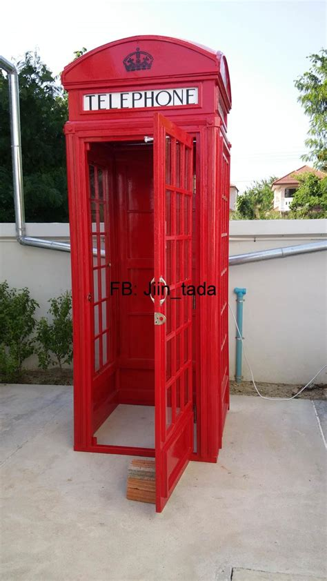 sale british classic  red phone box replica