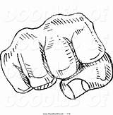 Fist Bump Clipart Vector Sketch Doodle Yayayoyo Coloring Designs Royalty Clipartwork Recommended Doodlesof sketch template