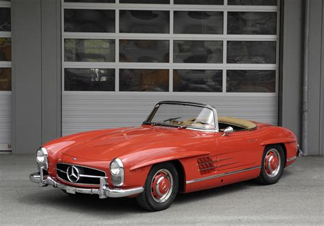 1962 Mercedes 300sl by 1962 Mercedes 300sl Roadster Baumberger Collection