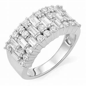 Silver Cubic Zirconia Ring | 0004821 | Beaverbrooks the ...