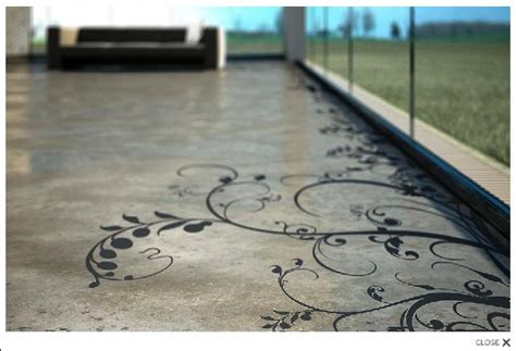 Painted Concrete Floor Ideas