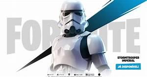 Fortnite  Multi   Trailer Revela Skin Do Stormtrooper Para