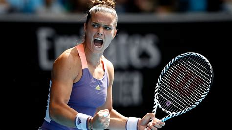 Professional tennis player @adidas athlete #heretocreate. Maria Sakkari considered running in the 100m at the national athletics championships   Tennis ...