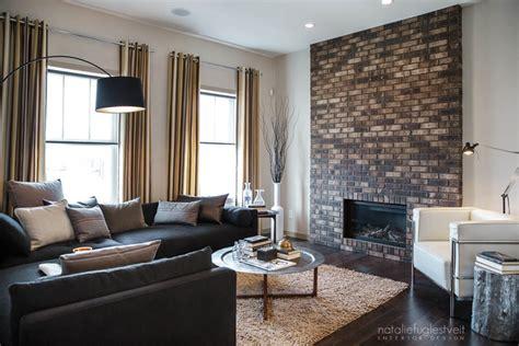 industrial modern living room design