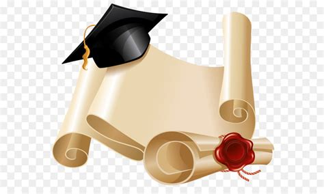 Graduation Ceremony Square Academic Cap Diploma Clip Art
