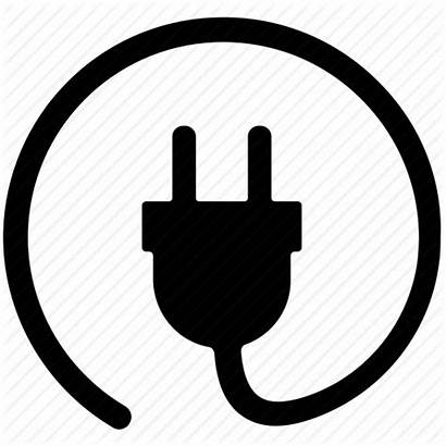Plug Icon Electrical Cord Electric Power Icons