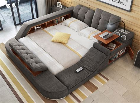 chaise lounge sofa bed the bed with integrated chair speakers