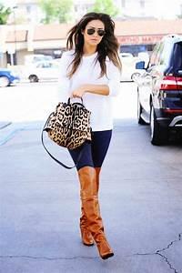 Outfits con botas cafes