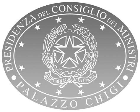 logo presidenza consiglio dei ministri council of ministers italy