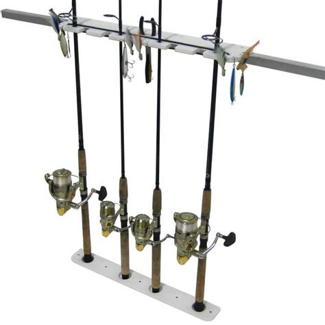 Fishing Rod Holders For A Pontoon Boat by 4 Rod Pontoon Rod Holder Boat Outfitters