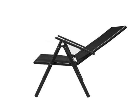 chaises pliables ensemble table et chaises bern 8 et 1 en aluminium avec