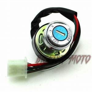 6 Pin Wire On Lock Off Ignition Key Switch For Kazuma
