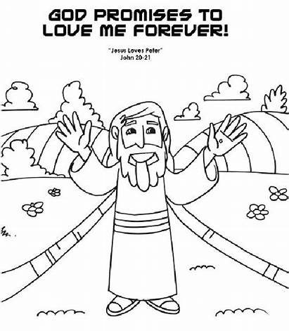 Coloring Pages God Loves Showing Gods Religious