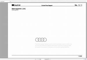 Audi A4 8w Full Wiring Diagrams 2015-2020 - Homepage